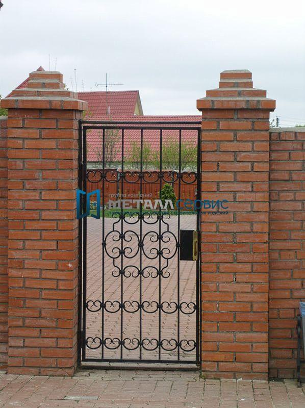 Ворота из железа своими руками фото 9