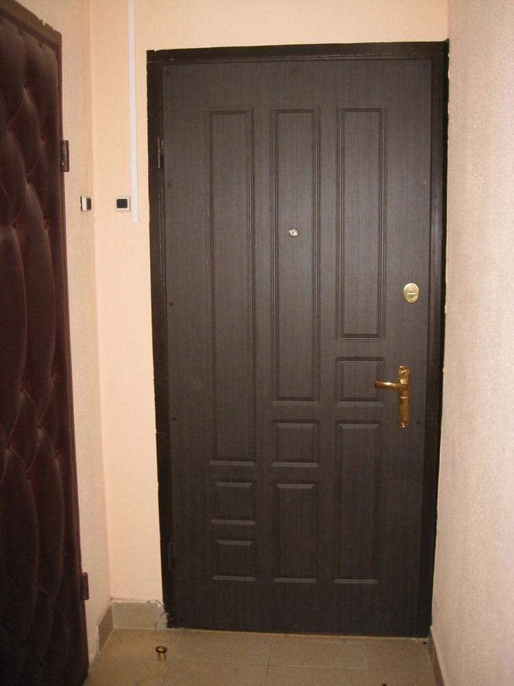 установка стальной двери с зеркалом внутри в красноармейске