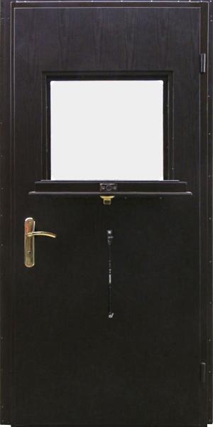 двери входные металлические с окошком