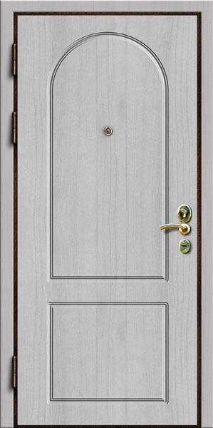стальные двери с отделкой мдф от 15000