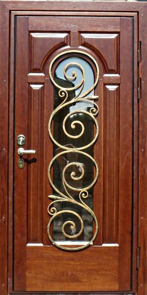 входные металлические двери кованные
