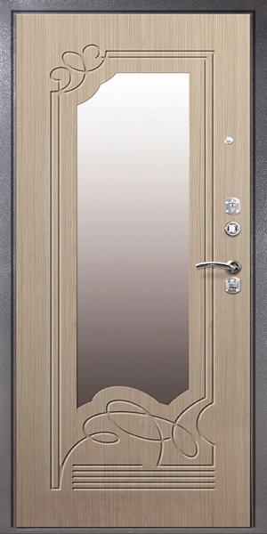 входная дверь зеркалом