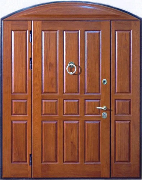 двустворчатые металлические двери срочно