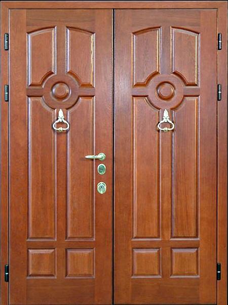 двустворчатые металлические двери цена